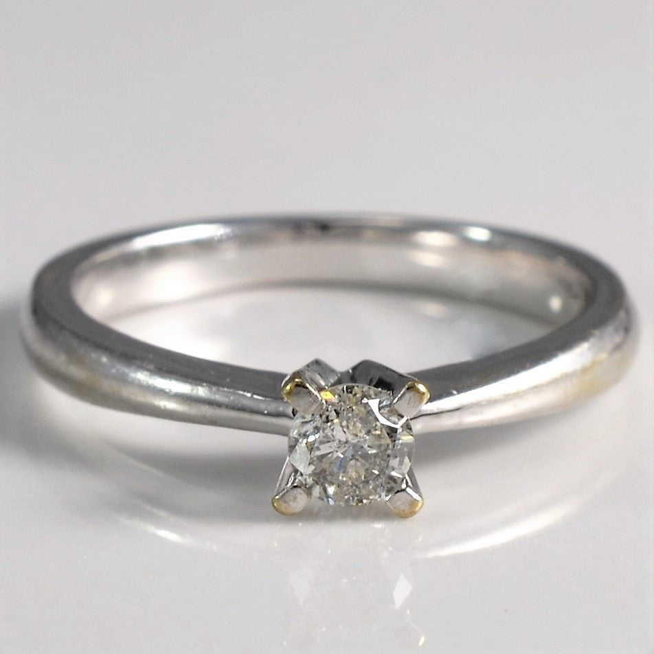 Prong Set Solitaire | 0.15 ct, SZ 4 |