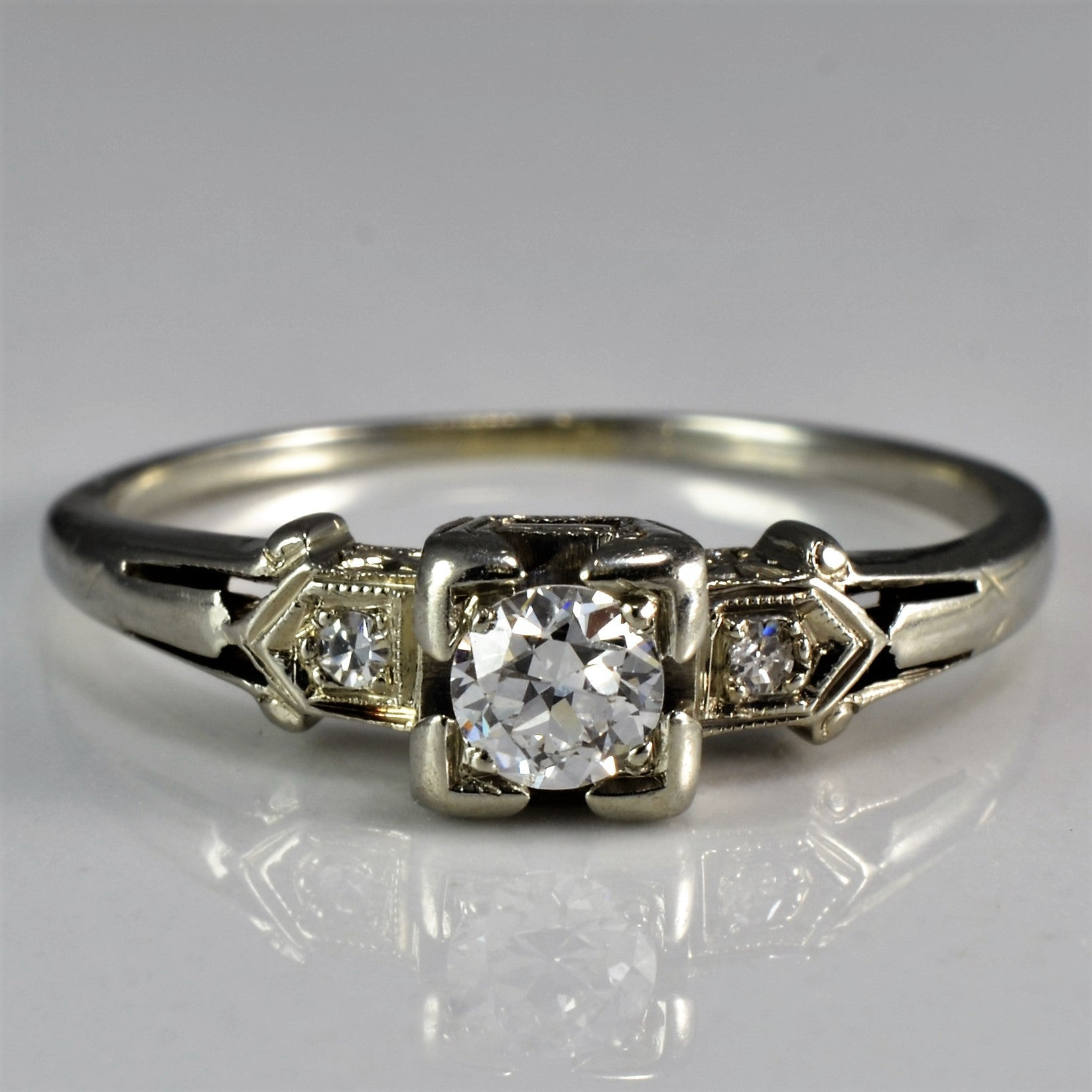 diamond rings in i ct pin round ring princess chip w gold baguette engagement and t white