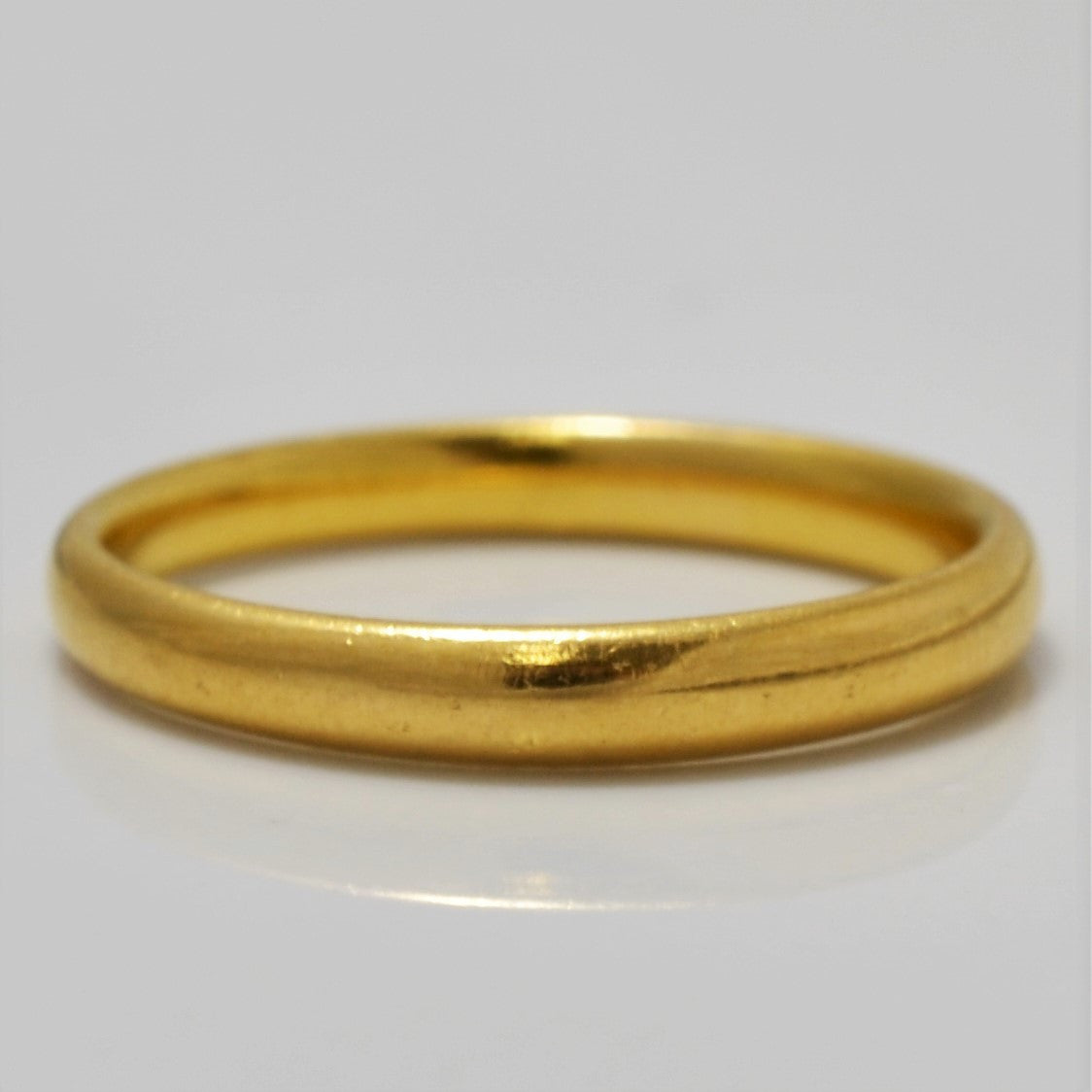 22K Yellow Gold Band | SZ 7.25 |