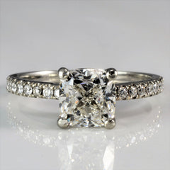 Cushion Cut Diamond Engagement Ring | 1.88 ctw, SZ 5.75 |