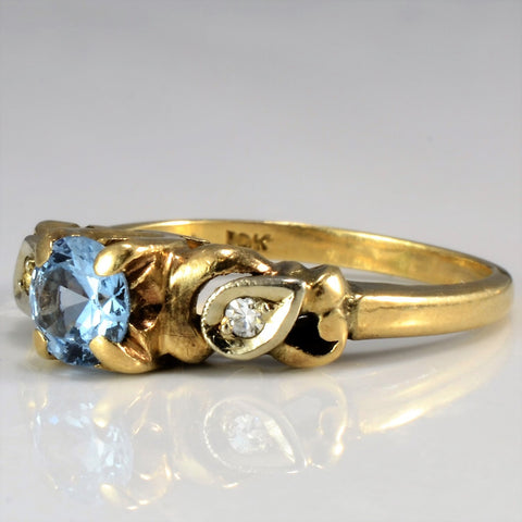 Birks Blue Spinel Ring | 0.02 ctw, SZ 4.75 |