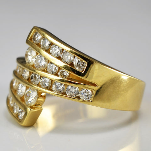 Bold Diamond Statement Ring | 0.75 ctw, SZ 6.5 |