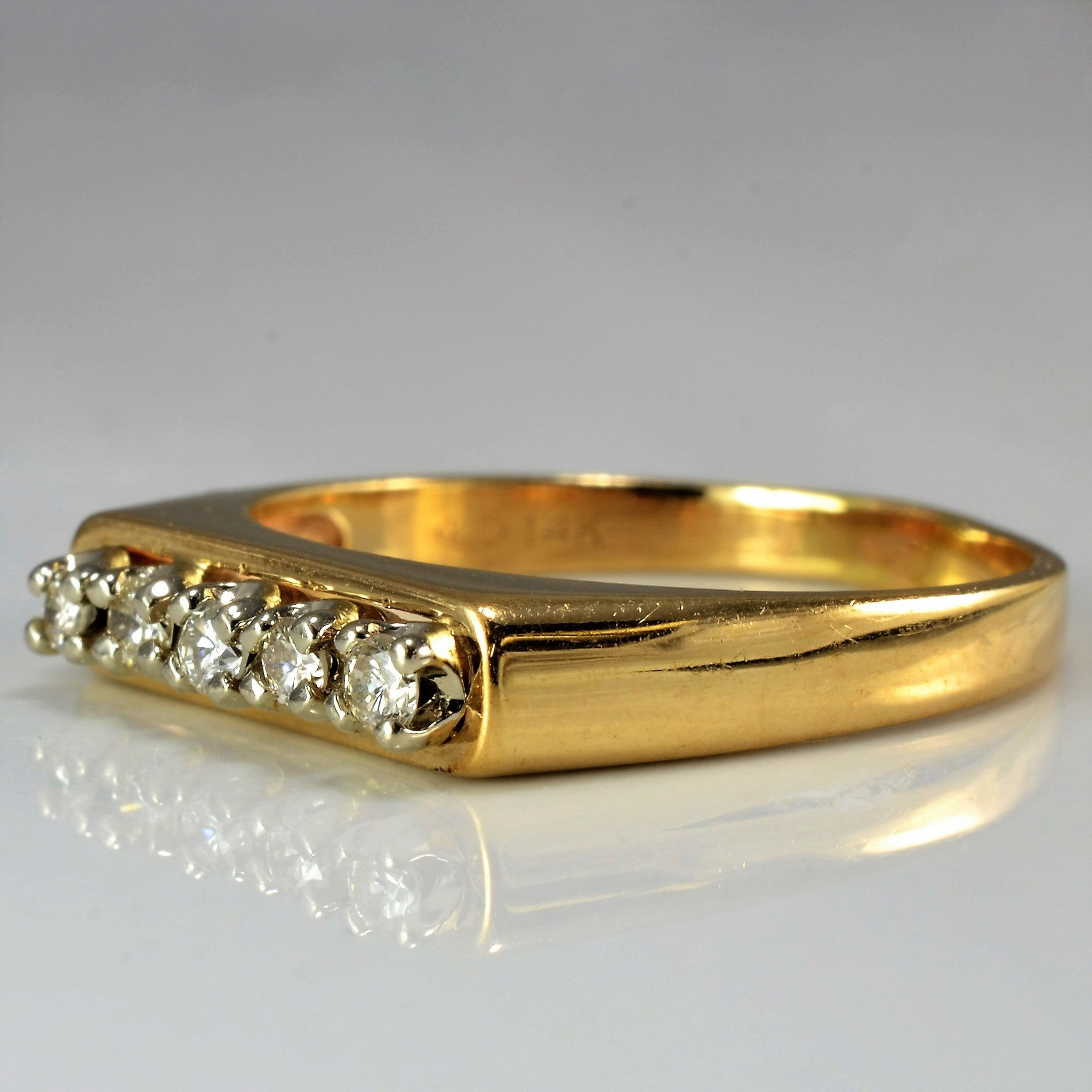 Open Setting Diamond Band | 0.15 ctw, SZ 7 |