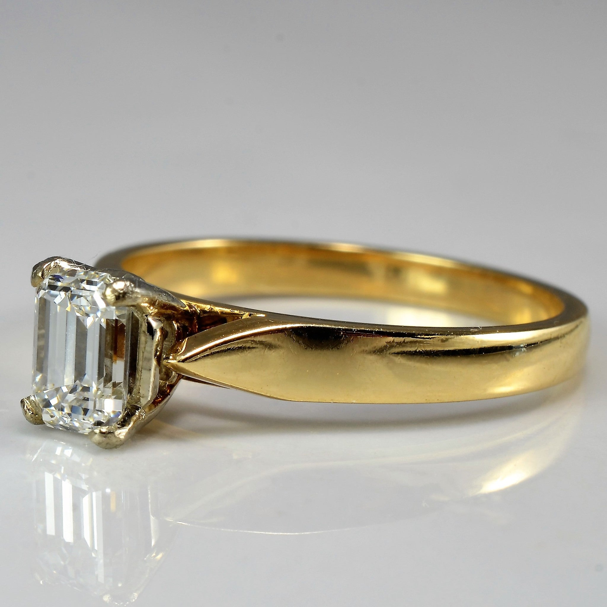diamond gold rings jrj rocket ring johnny yellow ladies emerald cut ct wedding jewellery engagement