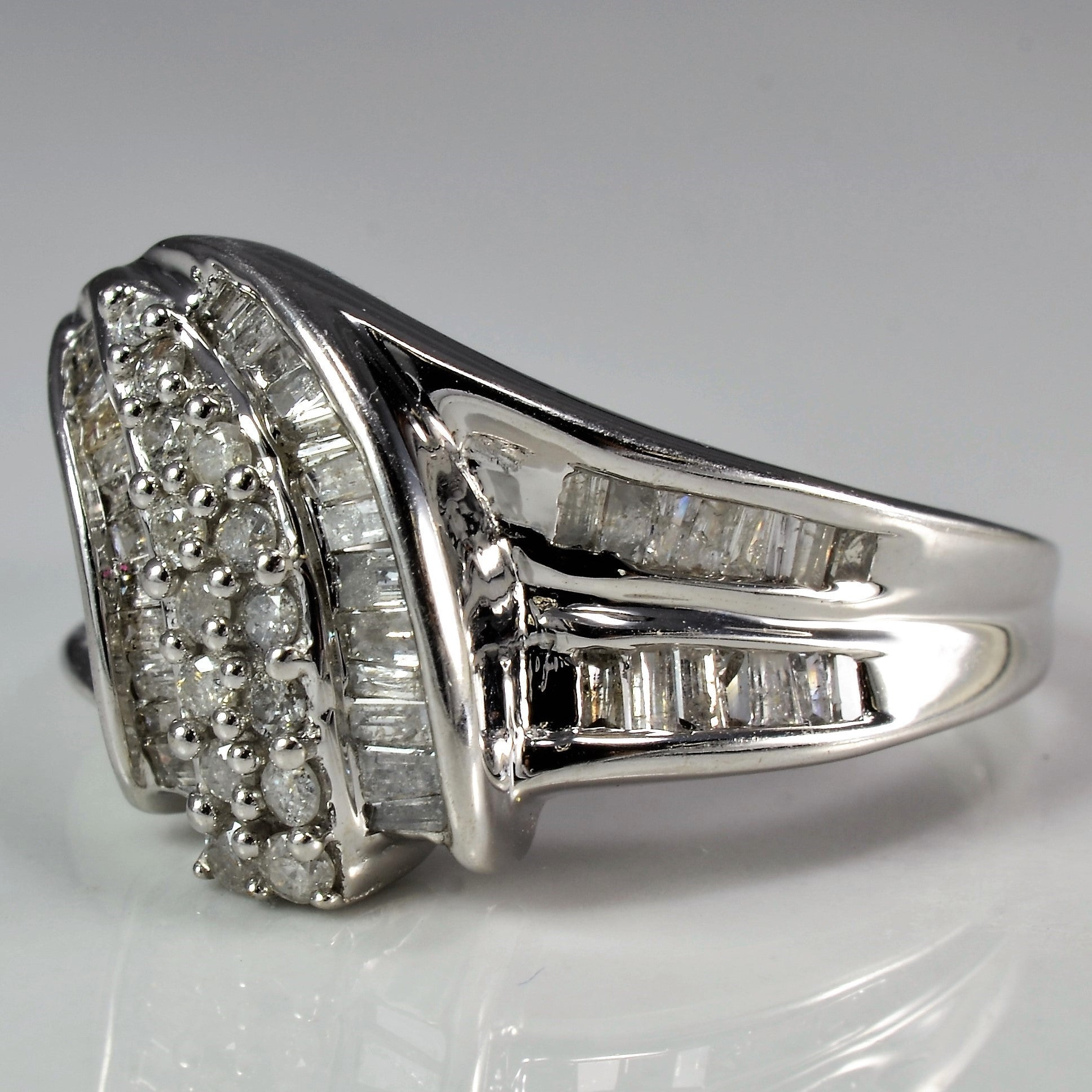 Diamond Spiral Cascade Ring | 0.50 ctw, SZ 9 |