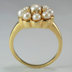 Floral Pearl Ring | SZ 7 |