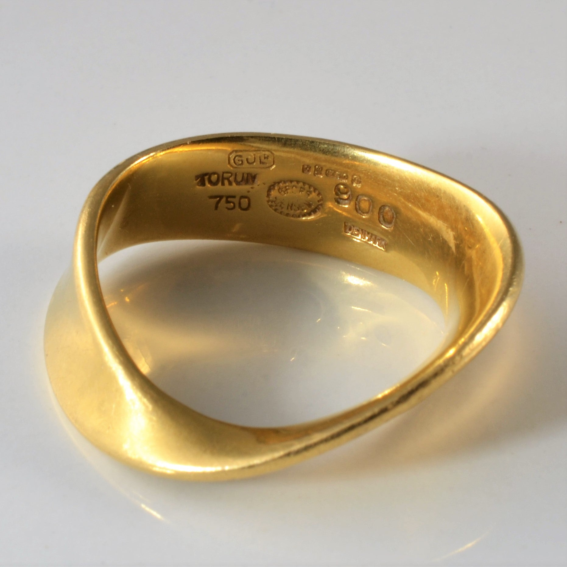 'Georg Jensen' Mobius Ring | SZ 7.75 |
