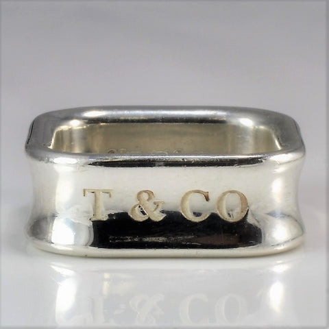 Tiffany & Co. 1837 Soft Square Ring | SZ 7 |