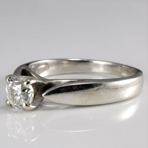 Solitaire Diamond Engagement Ring | 0.50 ct, SZ 5.25 |
