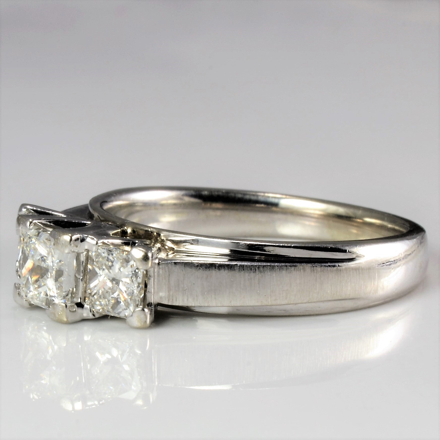 Three Stone Diamond Engagement Ring | 1.00 ctw, SZ 7 |