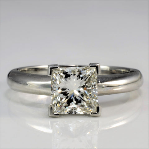 Elegant Square Diamond Engagement Ring | 1.28 ct, SZ 5 |