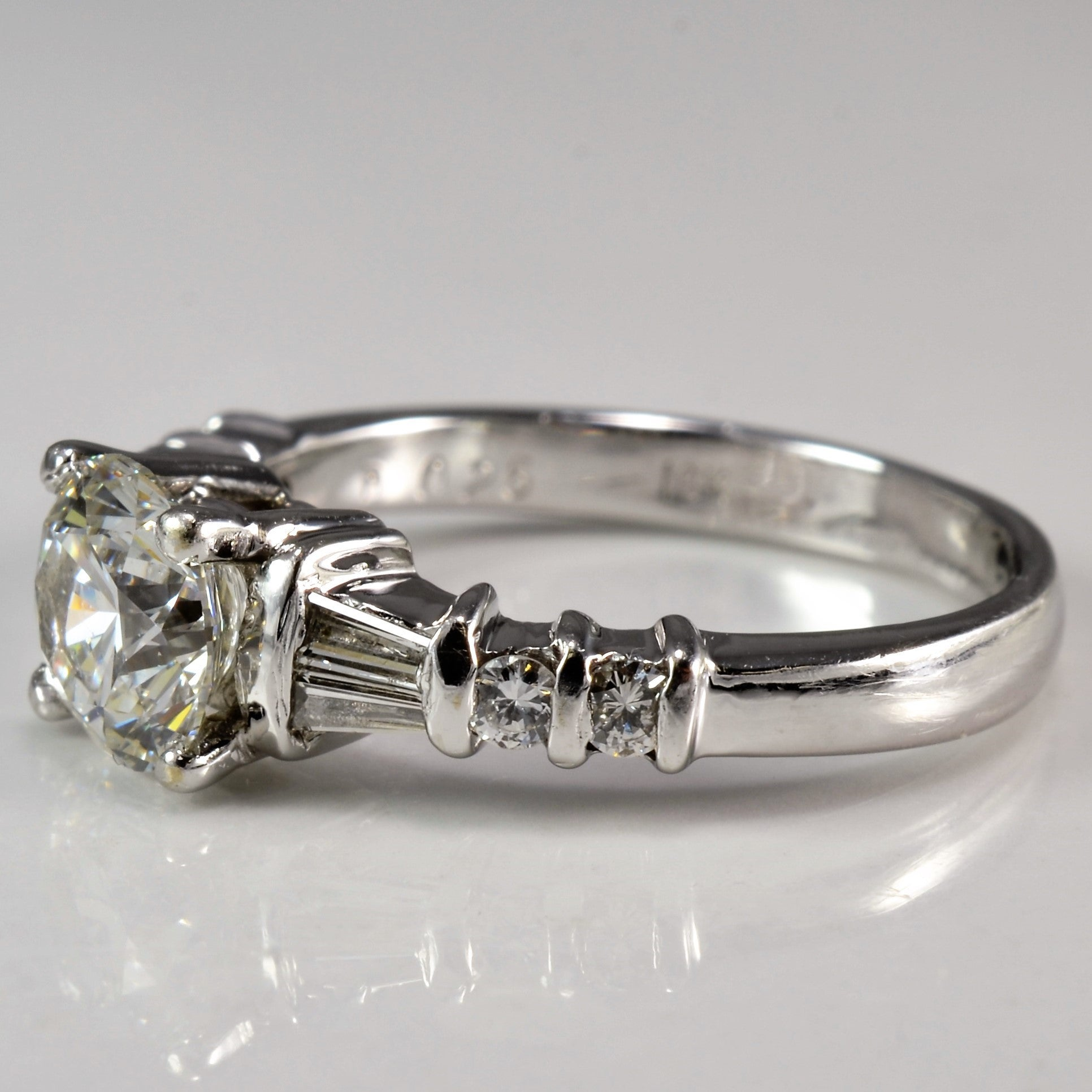Stunning GIA Diamond Engagement Ring | 1.27 ctw, SZ 5 |