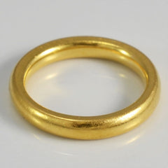22K Yellow Gold Band | SZ 4.75 |