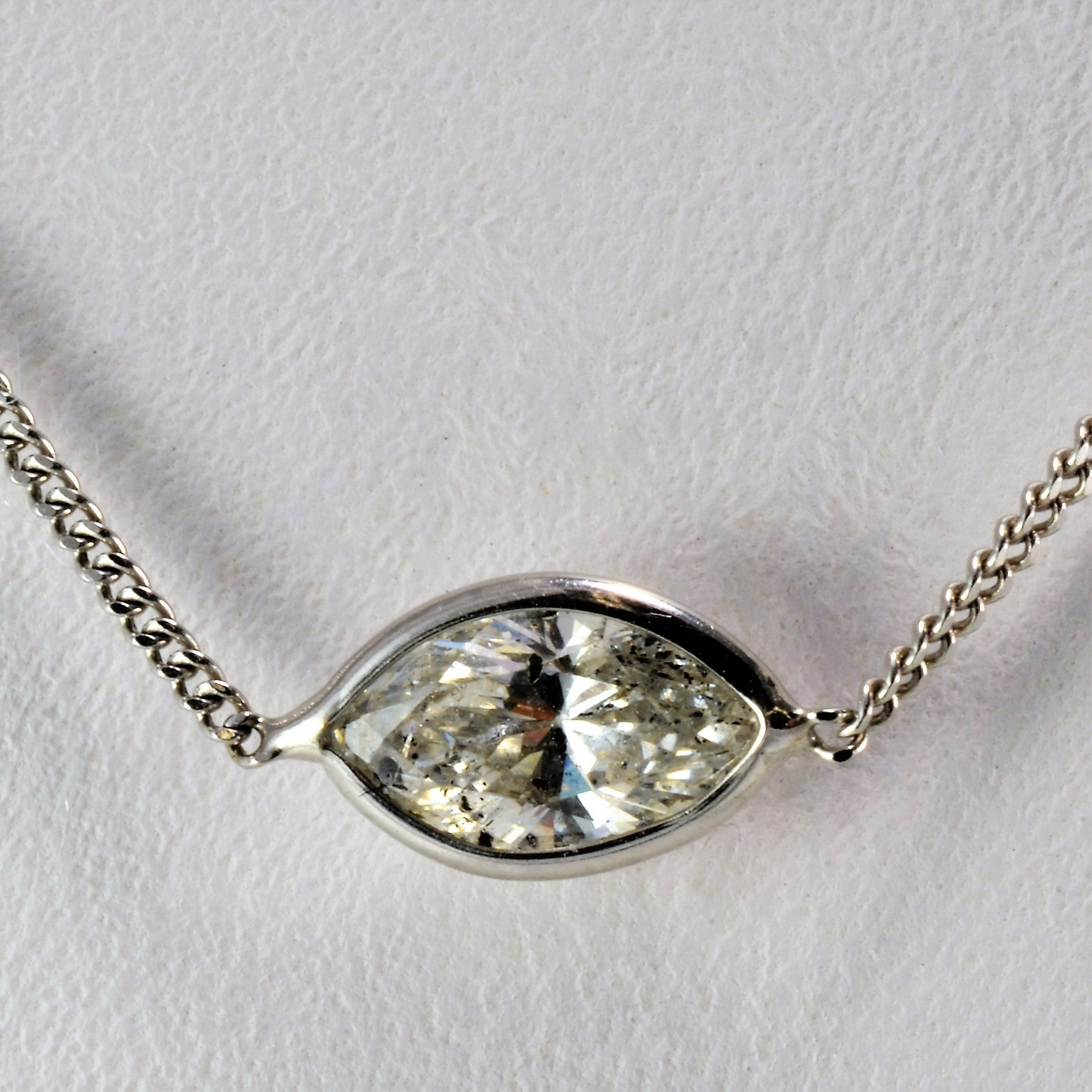 ways delicate necklace dsc pendant products ctw diamond marquise