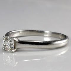 """Tiffany & Co."" Solitaire Lucida Diamond Engagement Ring 