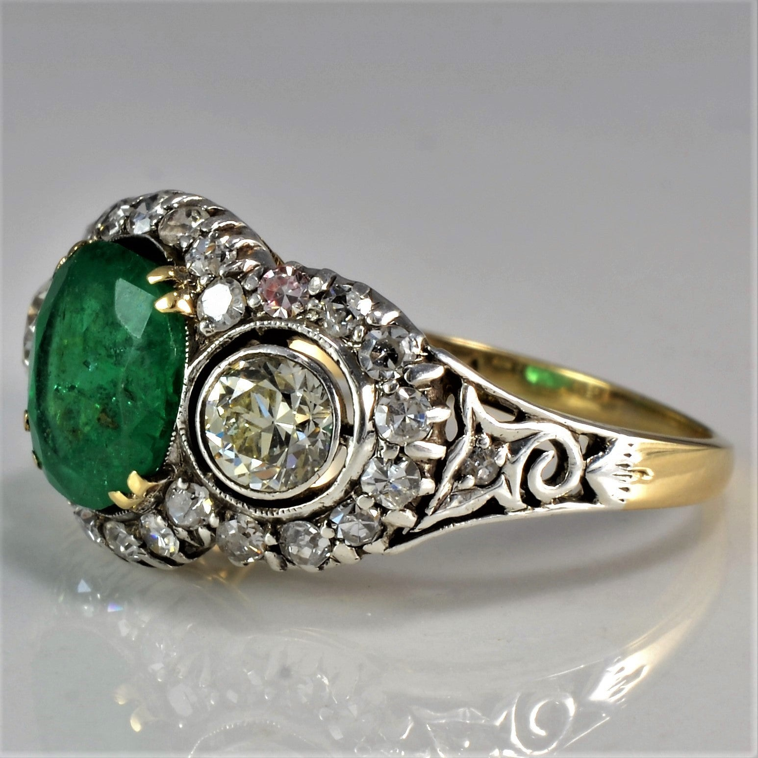 One Of A Kind Edwardian Era Engagement Ring | 1.00 ctw, SZ 6.5 |
