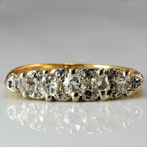 Victorian Era Engagement Ring SZ | 0.55 ctw, SZ 7.25 |