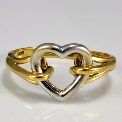 Split Shank Moving Heart Promise Ring | SZ 7.25 |