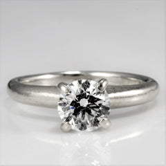 Prong Set Solitaire Diamond Engagement Ring | 0.71ct, SZ 4 |