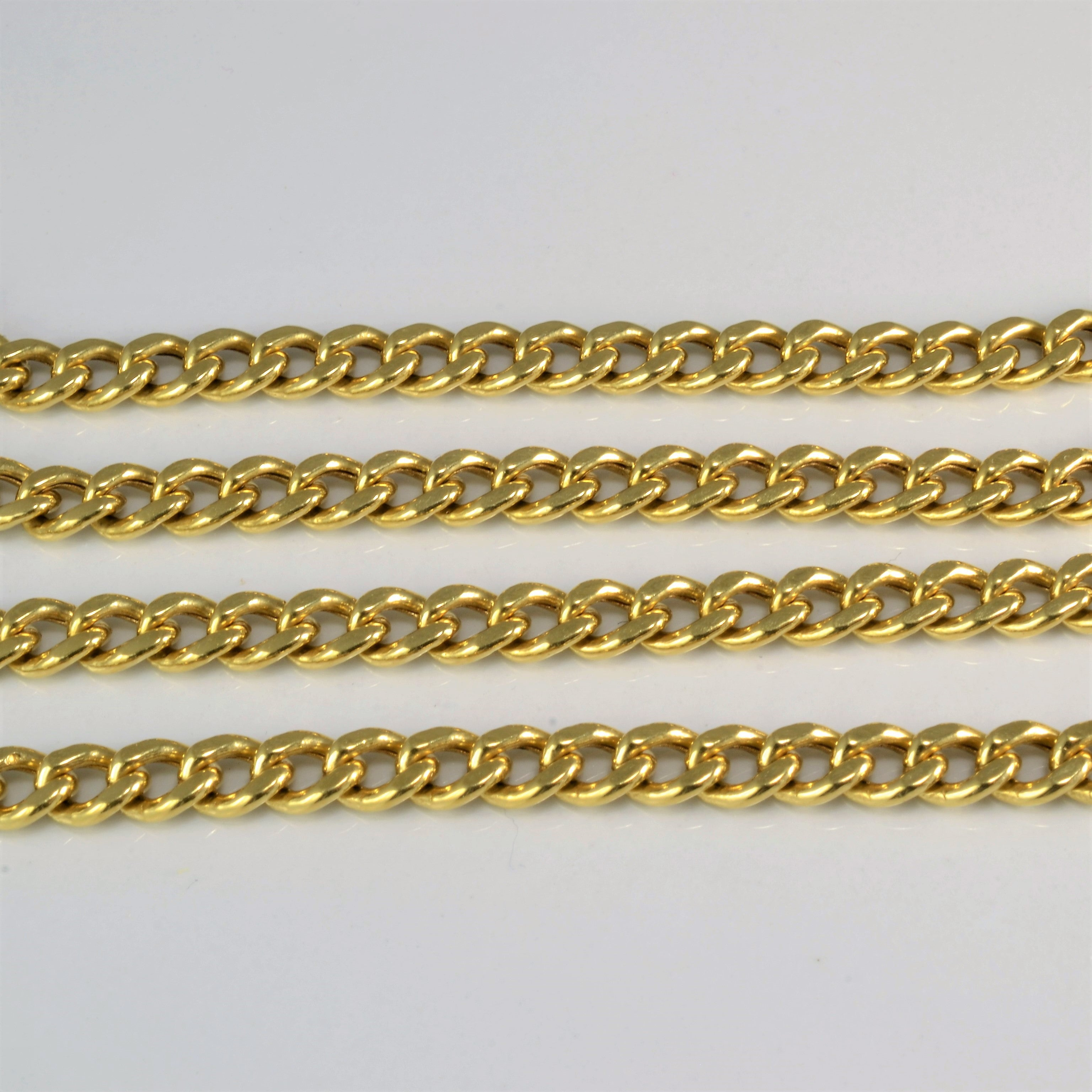 Curb Link Chain Necklace | 20'' |