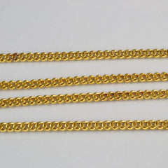 Basic 22K Yellow Gold Chain | 17''|