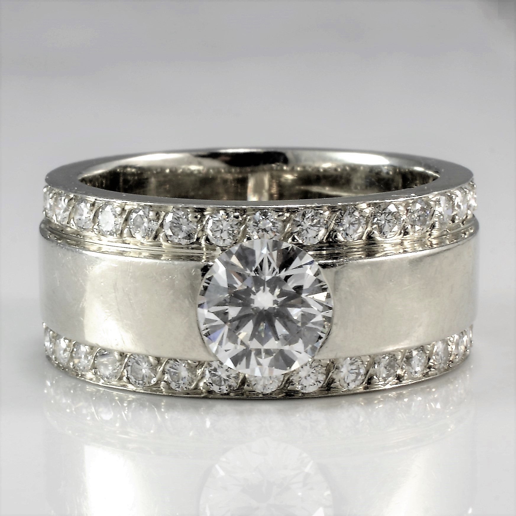 Polar Bear Diamond Engagement Ring | 1.25 ctw, SZ 5 |