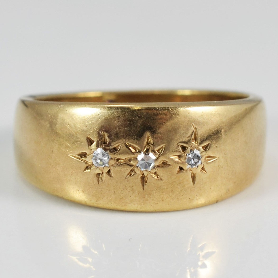 Late Victorian Era Diamond Band | 0.05 ctw, SZ 6 |