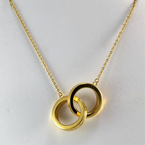 Tiffany & Co. 1837 Interlocking Circles Necklace | 16"