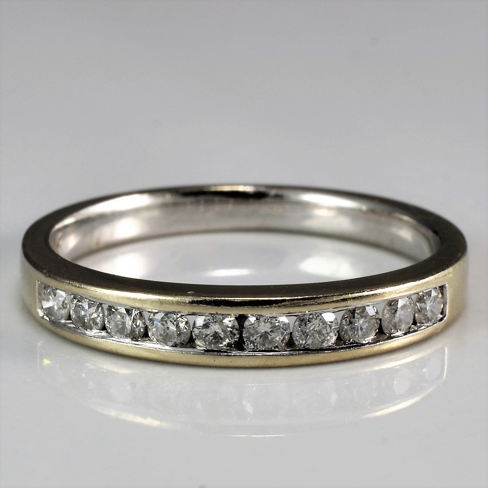 Classic Diamond Channel Band | 0.20ctw | SZ 5.5 |