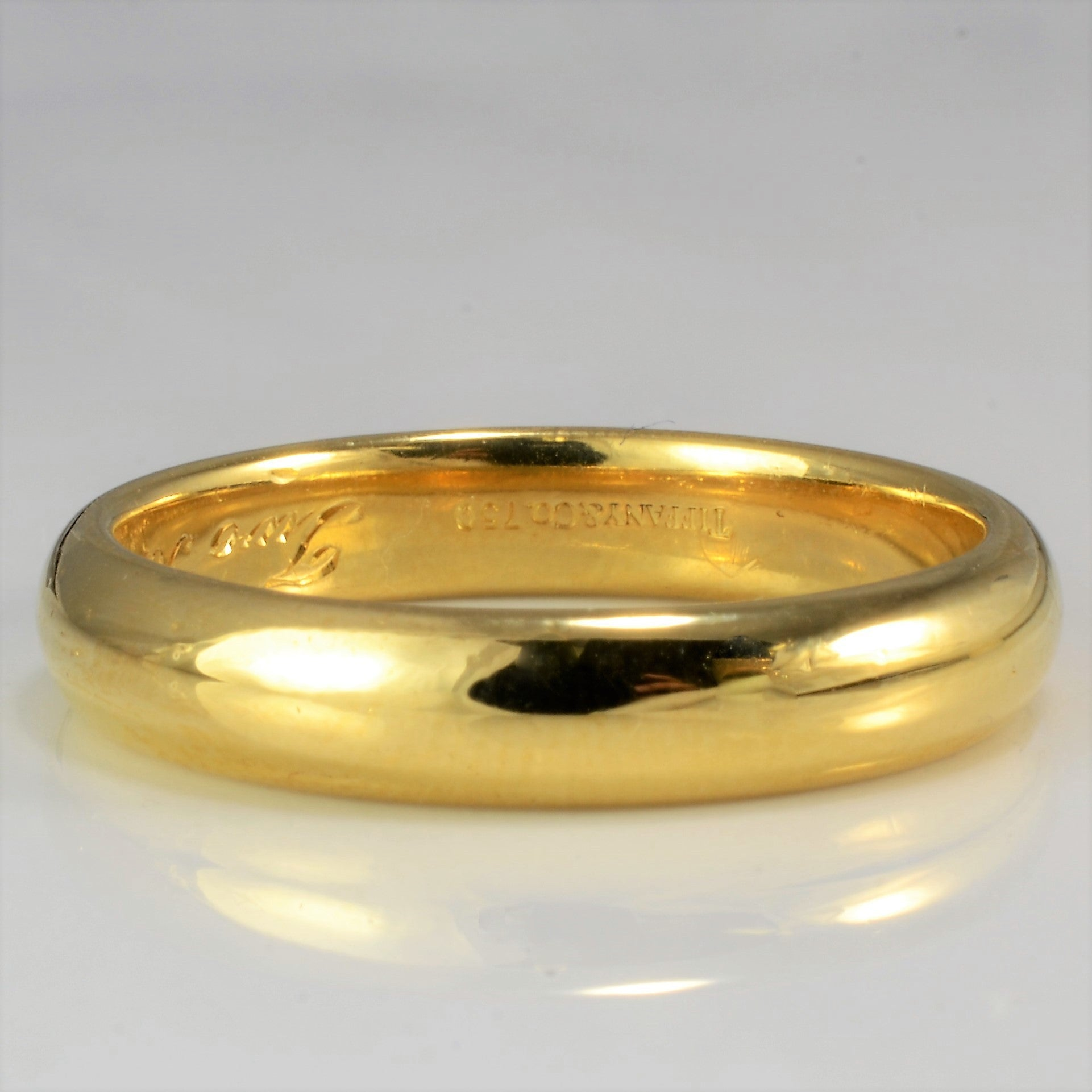 Tiffany & Co. Yellow Gold Wedding Band | SZ 10.25 |