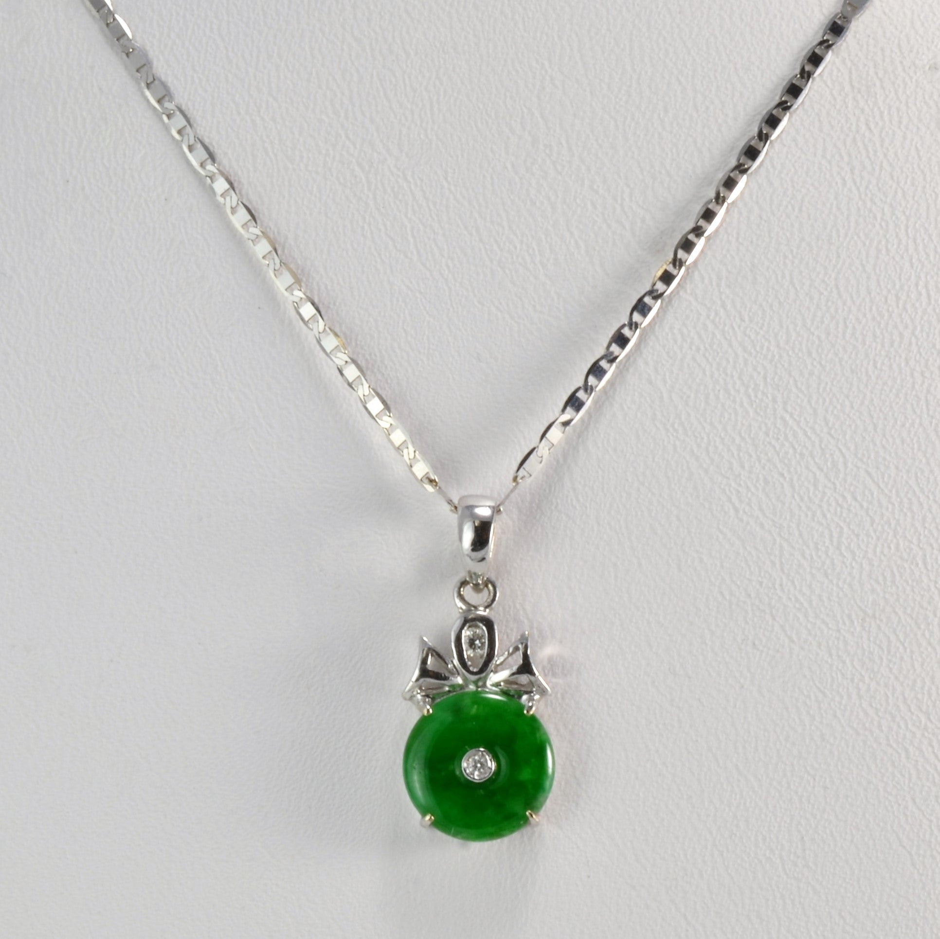 donut spiral nephrite jade necklace jewelry with pendant product go mens river leather gogo canadian