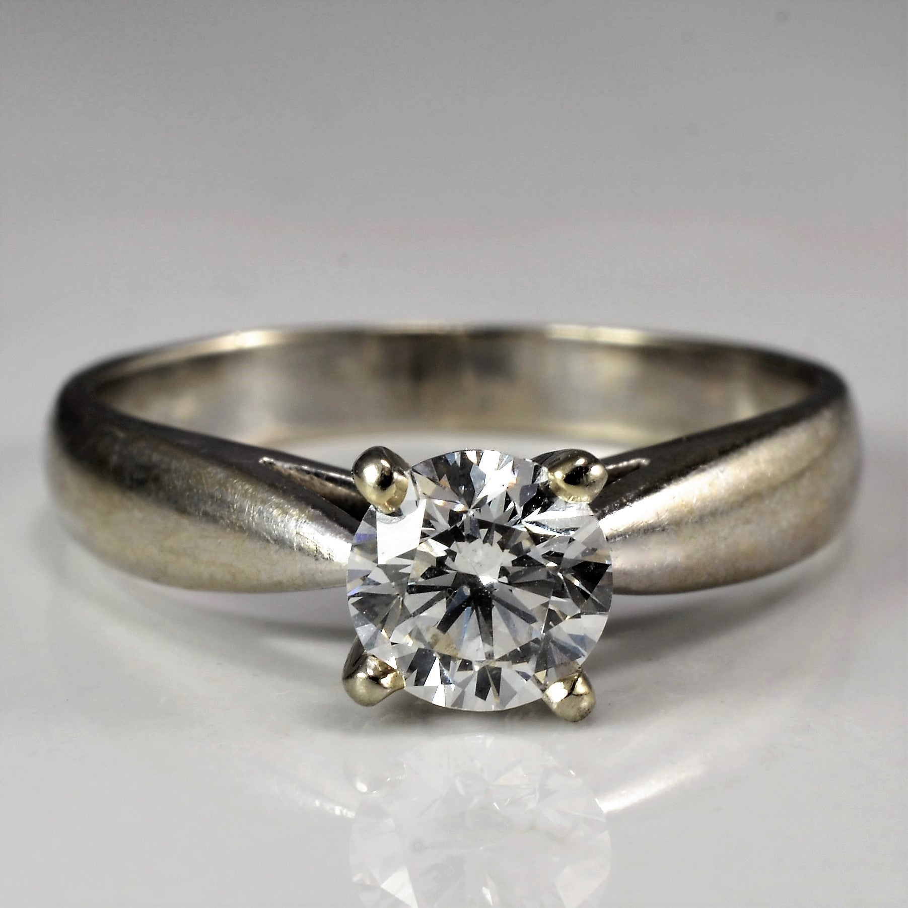 Stunning Solitaire Engagement Ring | 0.71ct | SZ 7 |
