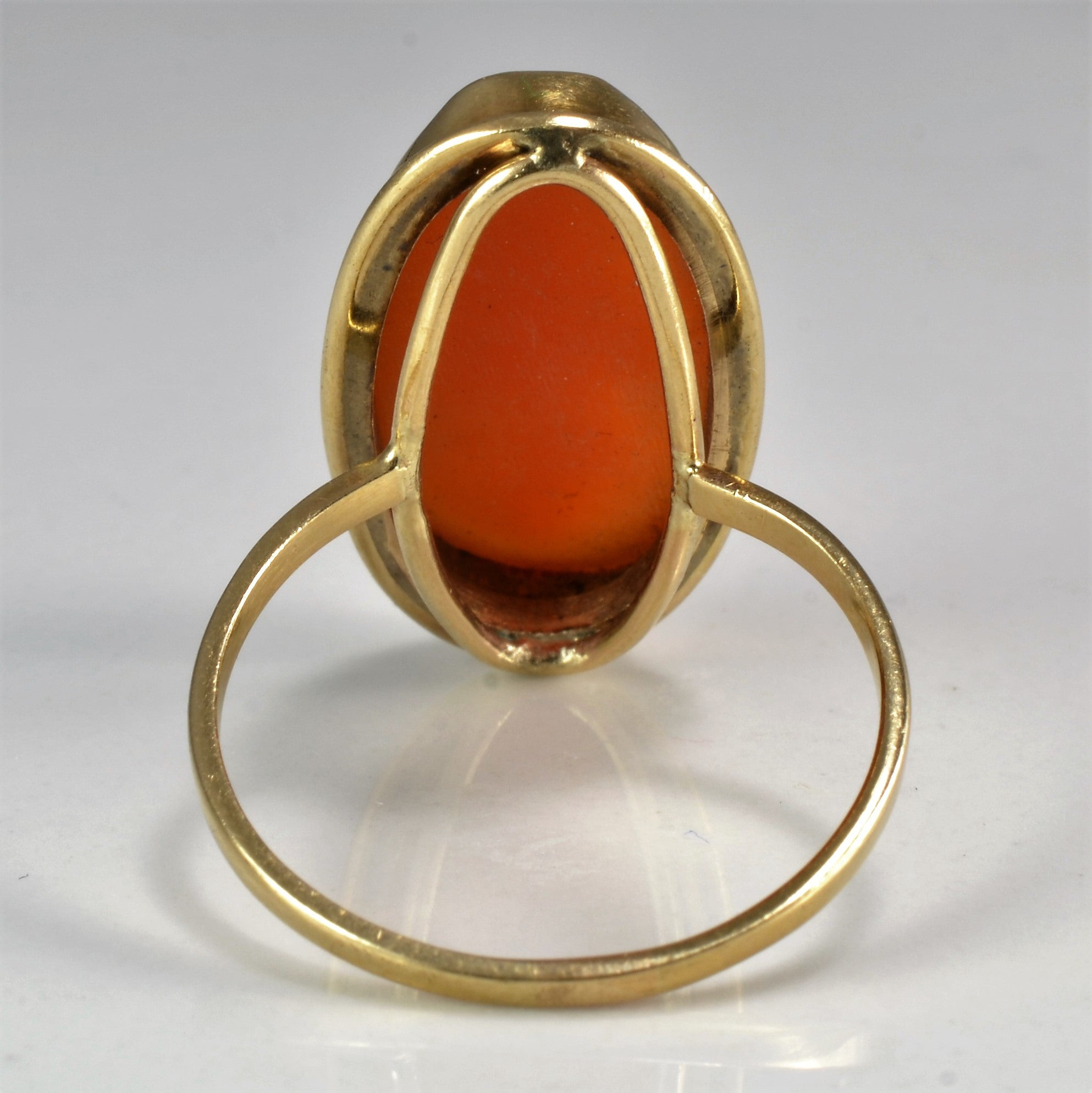 Classic Vintage Cameo Ring | SZ 7.5 |