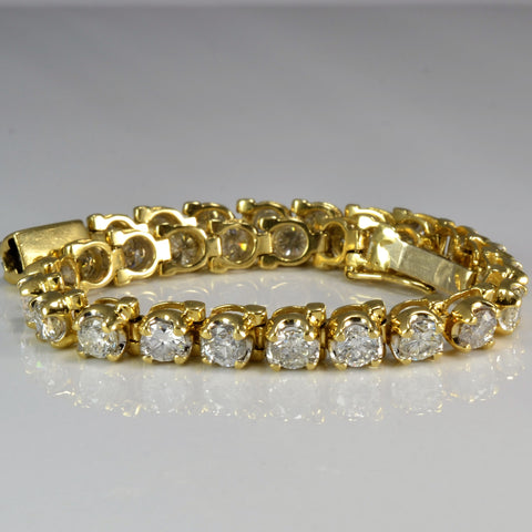 Gorgeous Diamond Tennis Bracelet | 9.00 ctw, 7"