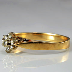 Tapered Diamond Promise Ring | 0.07 ctw, SZ 6.25 |