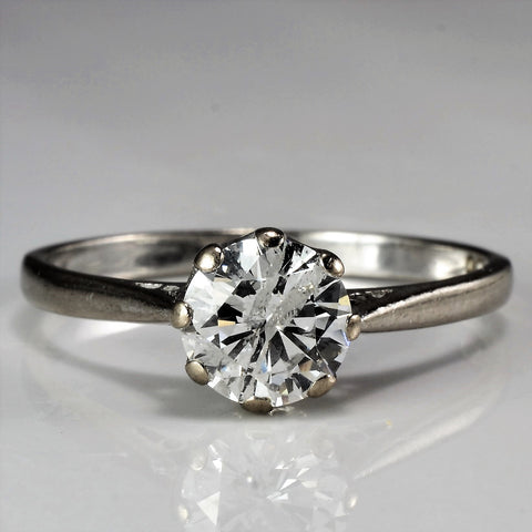 1940's Eight Prong Solitaire Engagement Ring | 1.00 ct, SZ 9.25 |