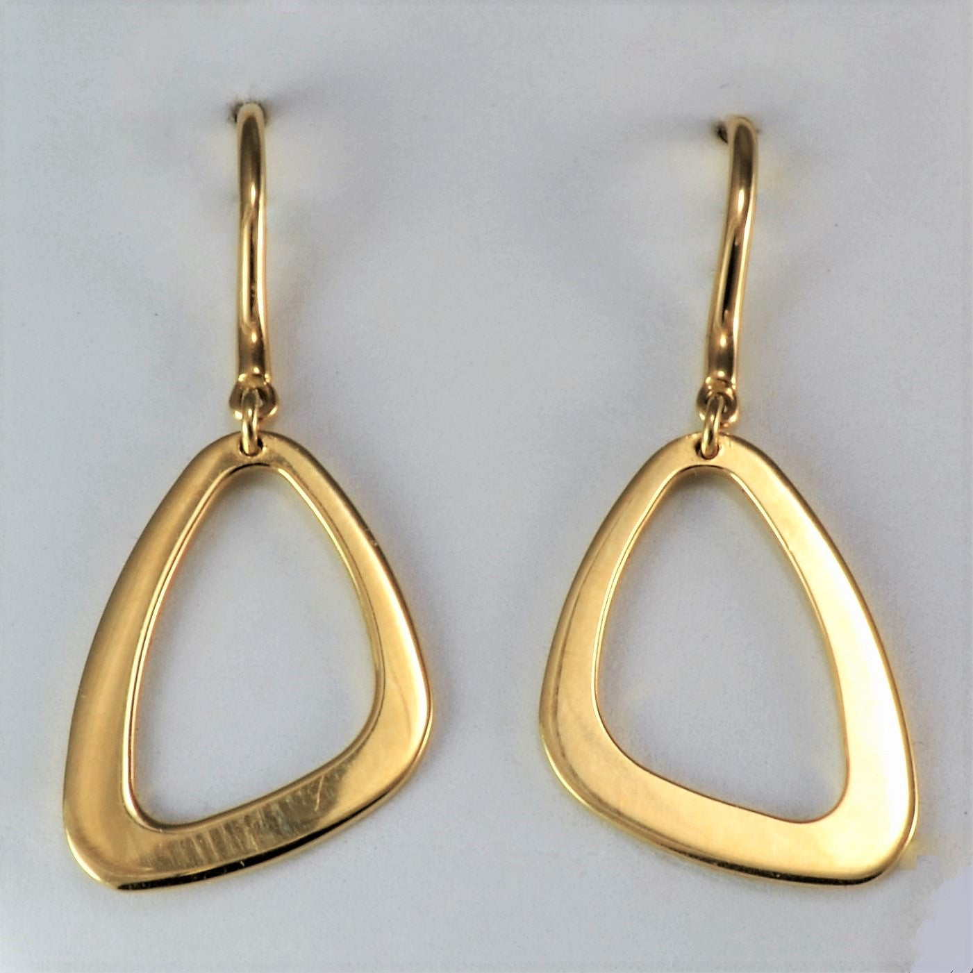 Birks Yellow Gold Drop Earrings