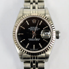 Stainless Steel Rolex Lady Datejust Oyster Perpetual