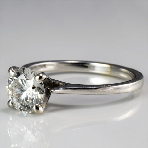 Solitaire Diamond Engagement Ring | 0.91 ct, SZ 5.75 |