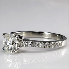 """Tiffany & Co."" Novo Collection Cushion Diamond Engagement Ring 