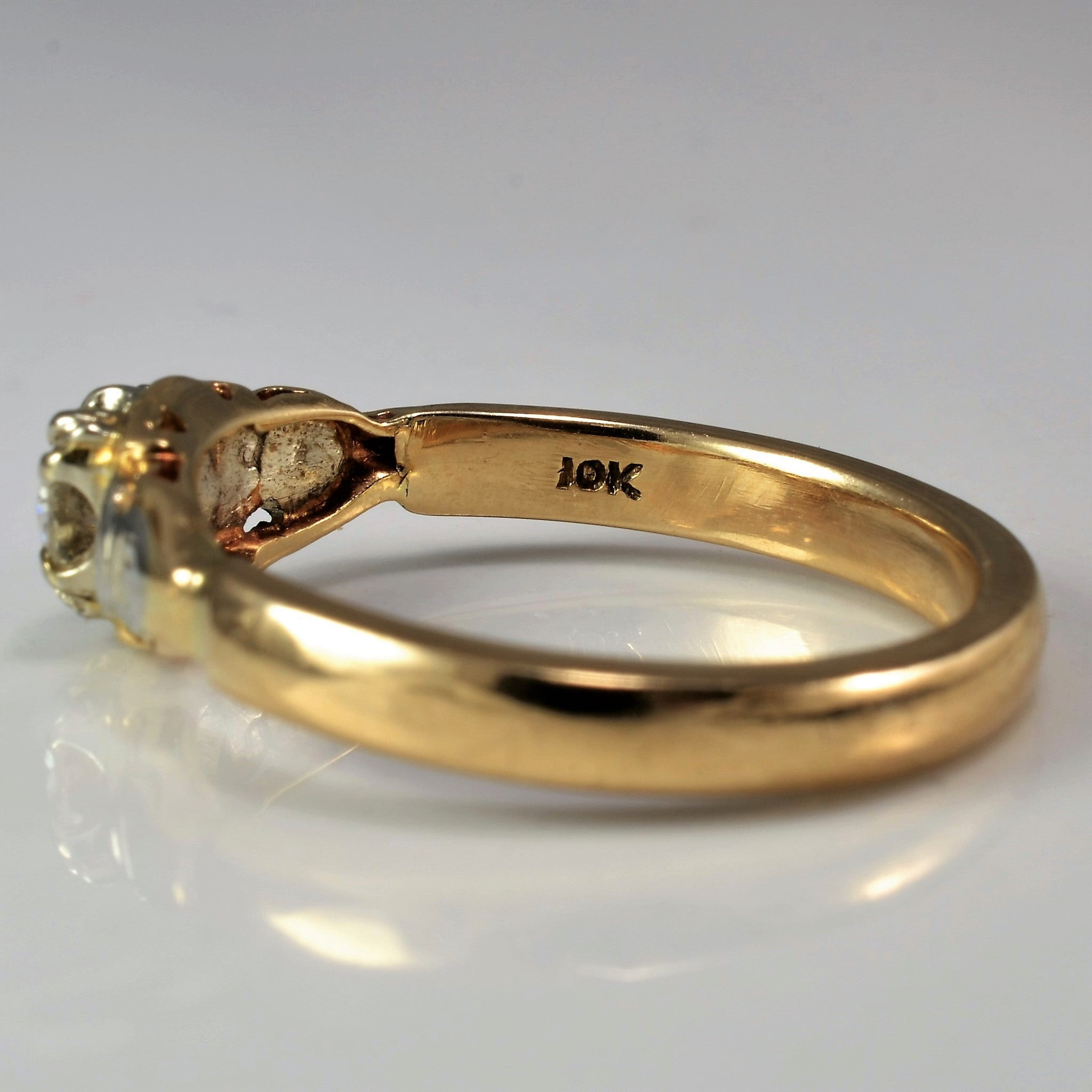 Solitaire Engagement Ring Circa 1930's | 0.30 ct, SZ 7.25 |