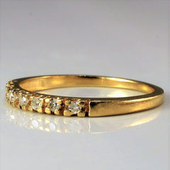 Petite Diamond Stacking Band | 0.07 ctw, SZ 3.75 |