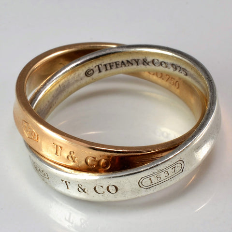 Tiffany & Co. 1837™ Interlocking Circles Ring SZ 7