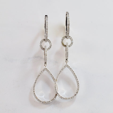 Diamond Drop Earrings | 0.42 ctw |