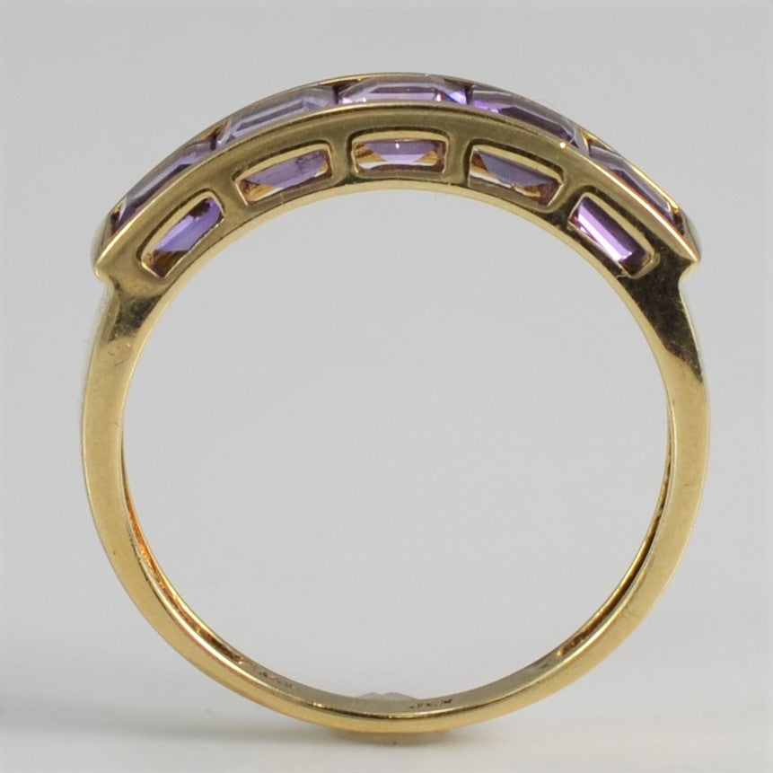 Channel Set Amethyst Band | SZ 7 |