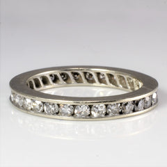 Channel Diamond Eternity Band | 0.58 tw, SZ 6.25 |