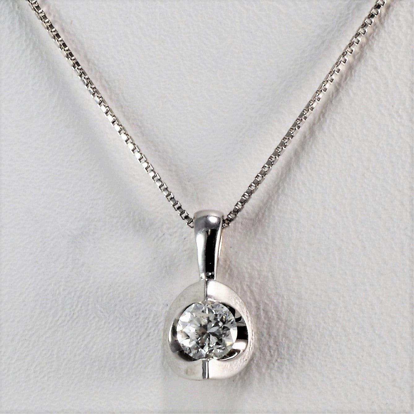 gold you cts only diamond solitaire white brandalley necklace