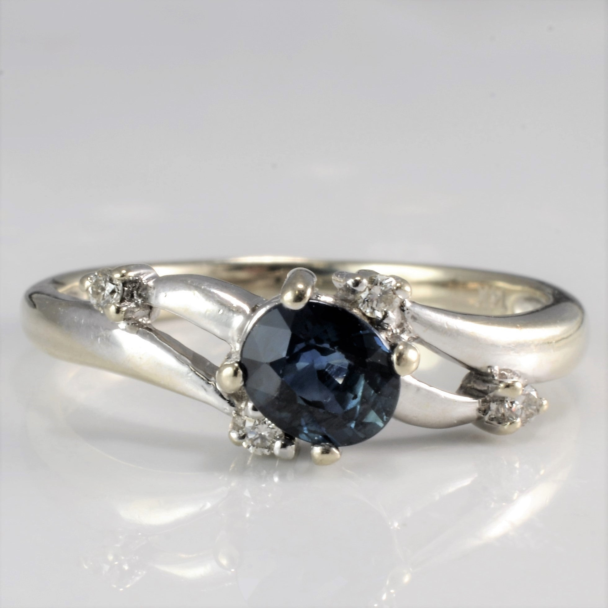 ring sterling cushion jewelrypalace women engagement solitaire jewelry new blue silver created sapphire