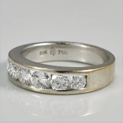 Channel Set Diamond Band | 0.76 ctw, SZ 4.5 |