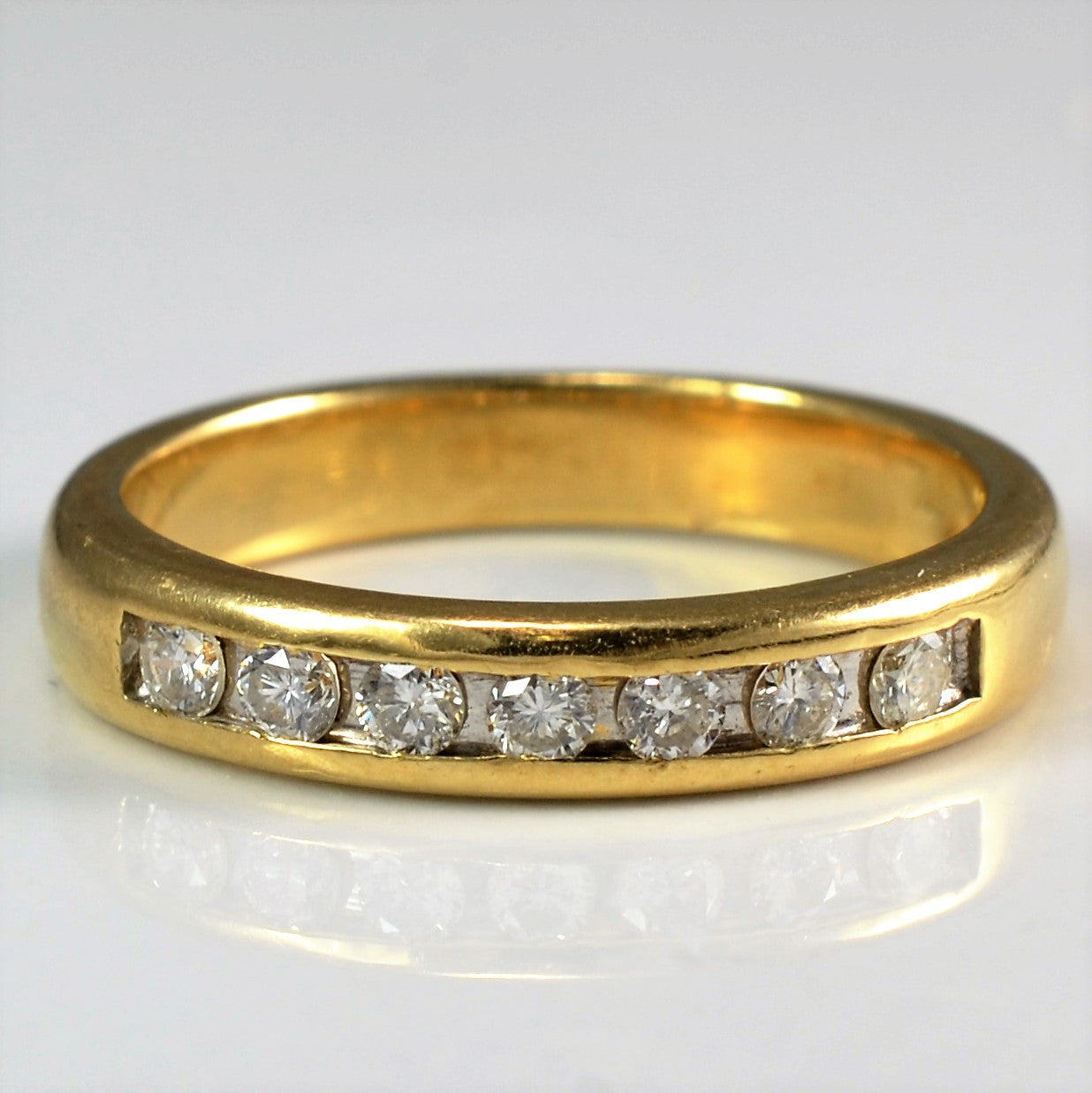 Channel Set Diamond Band | 0.20 ctw, SZ 6 |